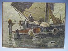 Ludwig DILL (1848-1940) German artist painting