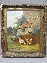 Charles MARECHAL (1865-?) painting