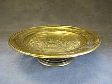 Antique French gilded bronze centerpiece