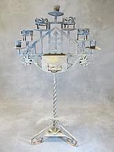 Antique iron Religious candlestick