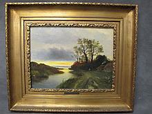 Rene HISS (1877-1960) painting