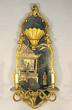 Antique Jansen Chinese wall sconce