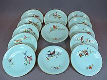 Probably European set of 12 plates & 1 cake stand