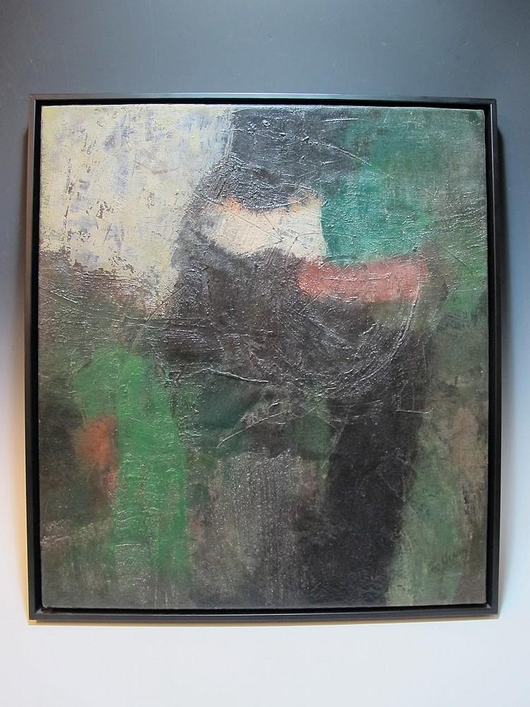 Guido LLINAS (1923-2005) Cuban artist oil on canvas