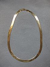 Necklace, 14 k yellow gold, Italy, 24 grams