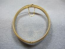 Bracelet, 14 k yellow gold, 10 grams