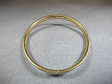 Bracelet, 12 k yellow gold, 6 grams