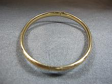 Bracelet, 14 k yellow gold, 4 grams