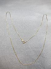 Chain, Italy, 14 k yellow gold, 1.1 grams