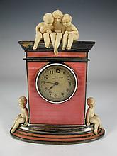 Probably Alfred HOF clock retailed by by Walser, Wald & Cia, Buenos Aires
