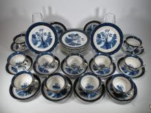 Occuped Japan set of 36 porcelain cups & plates