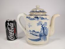 Antique Chinese porcelain coffee pot