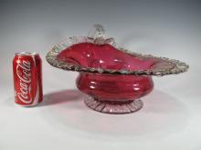 Vintage Italian murano glass bowl