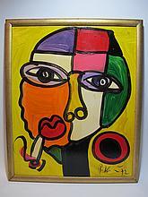 Peter Robert KEIL (1942) German artist painting