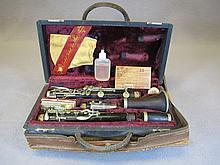 Vintage Buffet Crampon Clarinet Paris