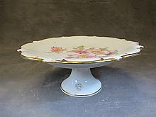Old Germany porcelain cake stand