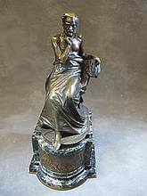 Edouard DROUOT (1859-1945) bronze statue