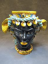 Ceramic vase made by Besnik Harizi