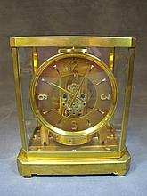 JAEGER LECOULTRE 'ATMOS' Brass mantle clock