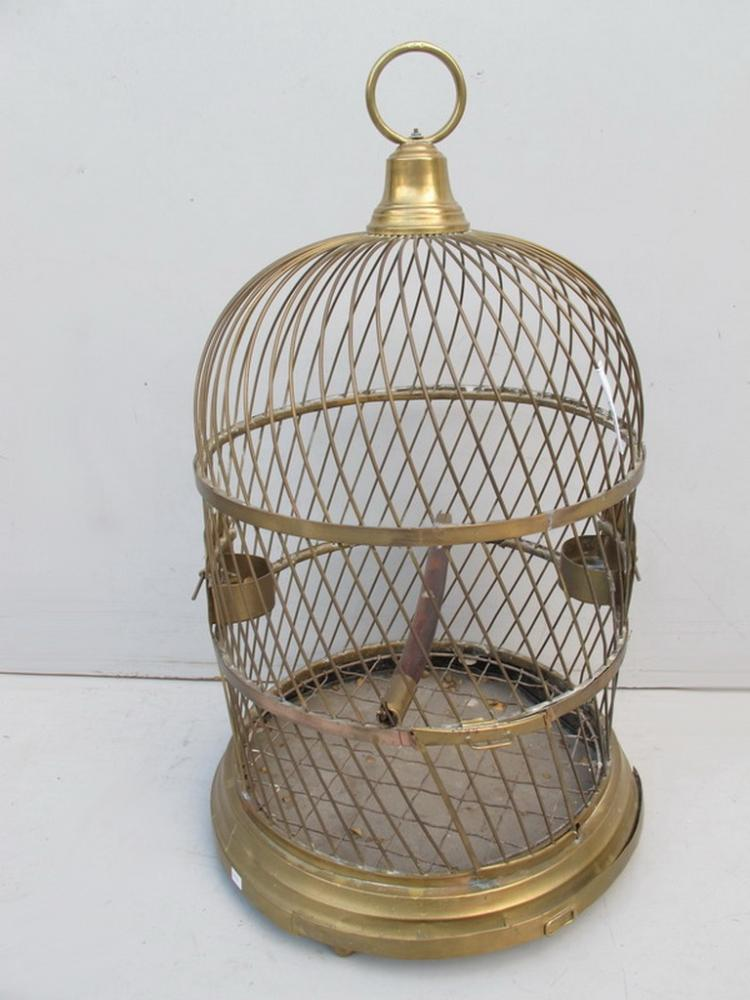 antique french large bronze bird cage. Black Bedroom Furniture Sets. Home Design Ideas