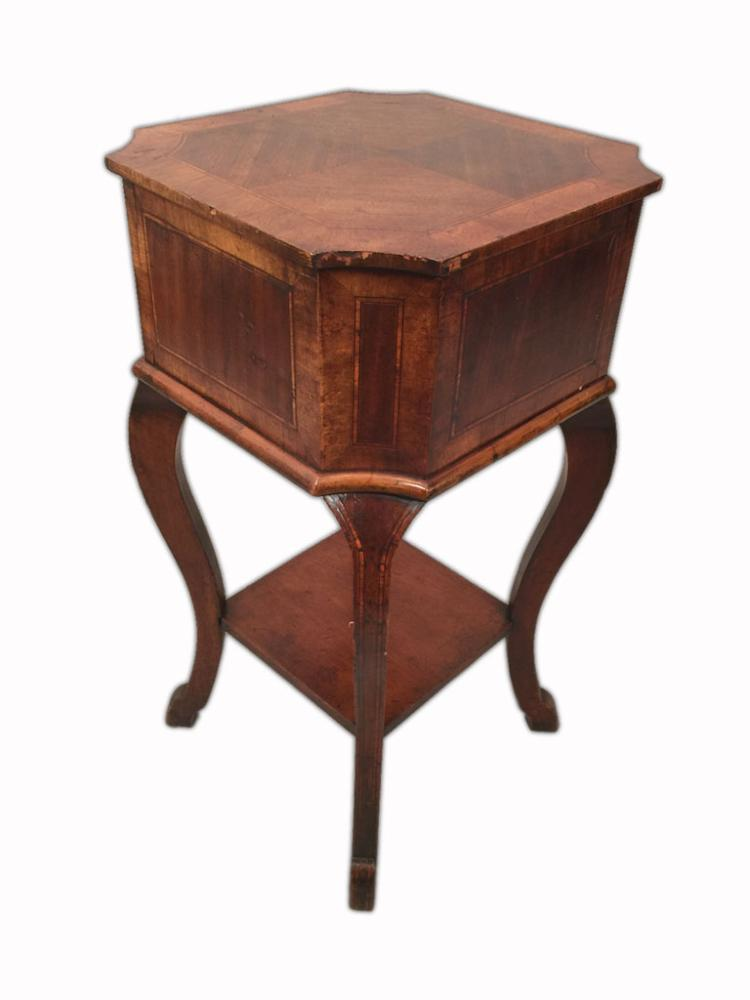 english colonial style sewing table. Black Bedroom Furniture Sets. Home Design Ideas