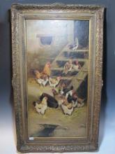 Jules George BAHIEU (c.1860-c.1895) Belgian artist