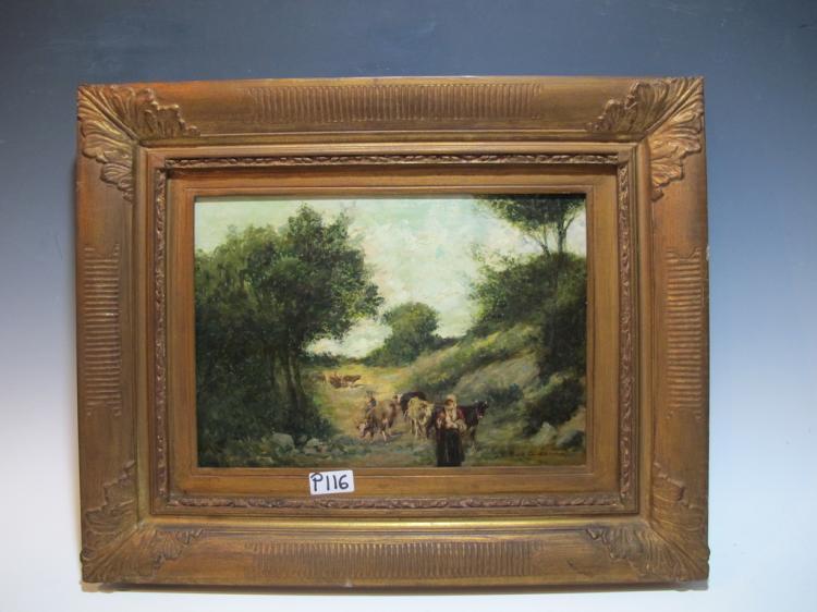 Tristan LACROIX (1849-1914), French artist