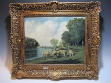 Late 19th C European painting, MASSON