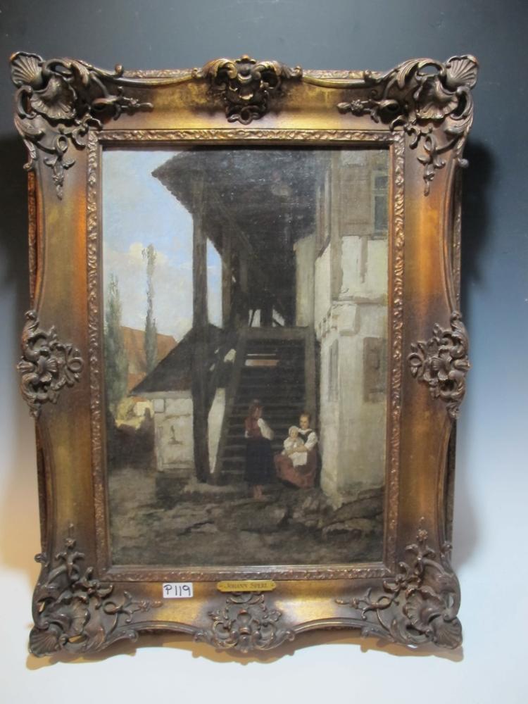Johann SPERL (1840-1914) German artist