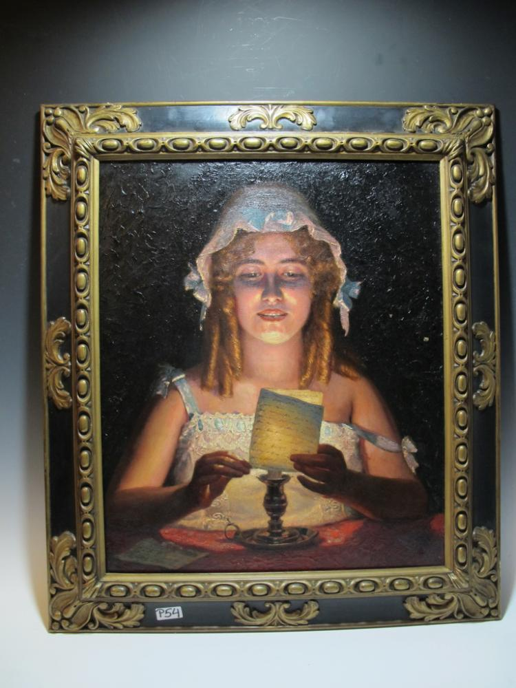 Valentina PAGANI DE CASORATI (1863-1919) Italian artist