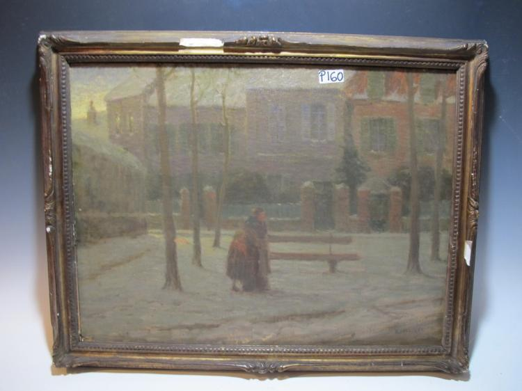 Oscar KOELLIKER (1882-?) Swiss artist