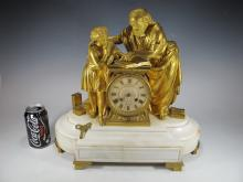Manoah Rhodes & Son, Japy Freres mantel clock