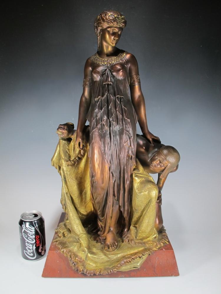 Henry Étienne DUMAIGE (1830-1888) bronze sculpture