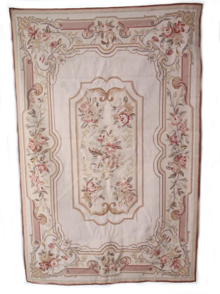 Antique French Aubusson style tapestry