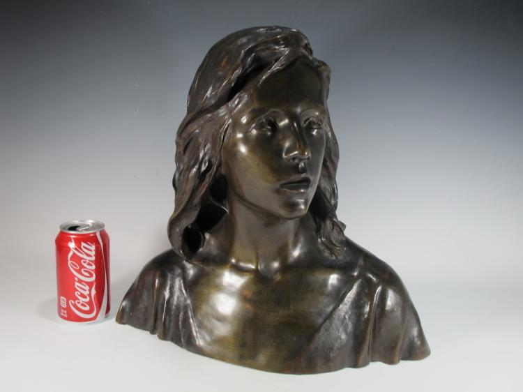 Raoul Francois LARCHE (1860-1912) bronze sculpture