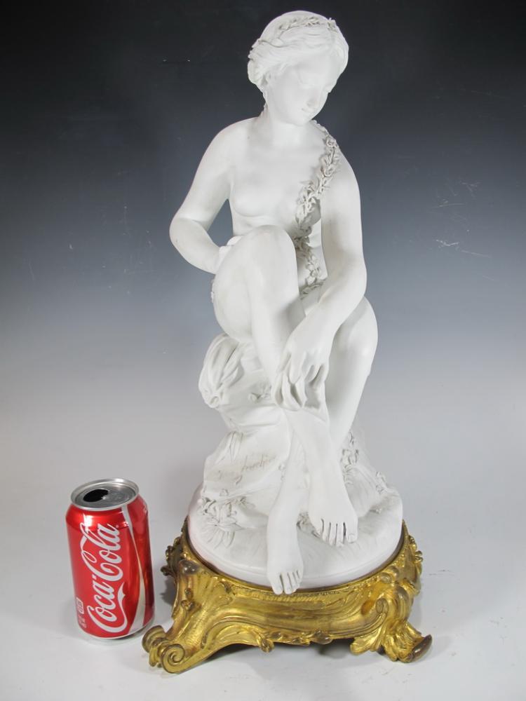 Jean Jacques FEUCHERE (1807-1852) Sevres bisque statue