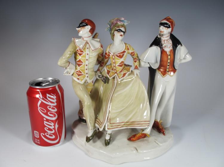 Italian Cacciapuoti (1931-1982) Porcelain Figures