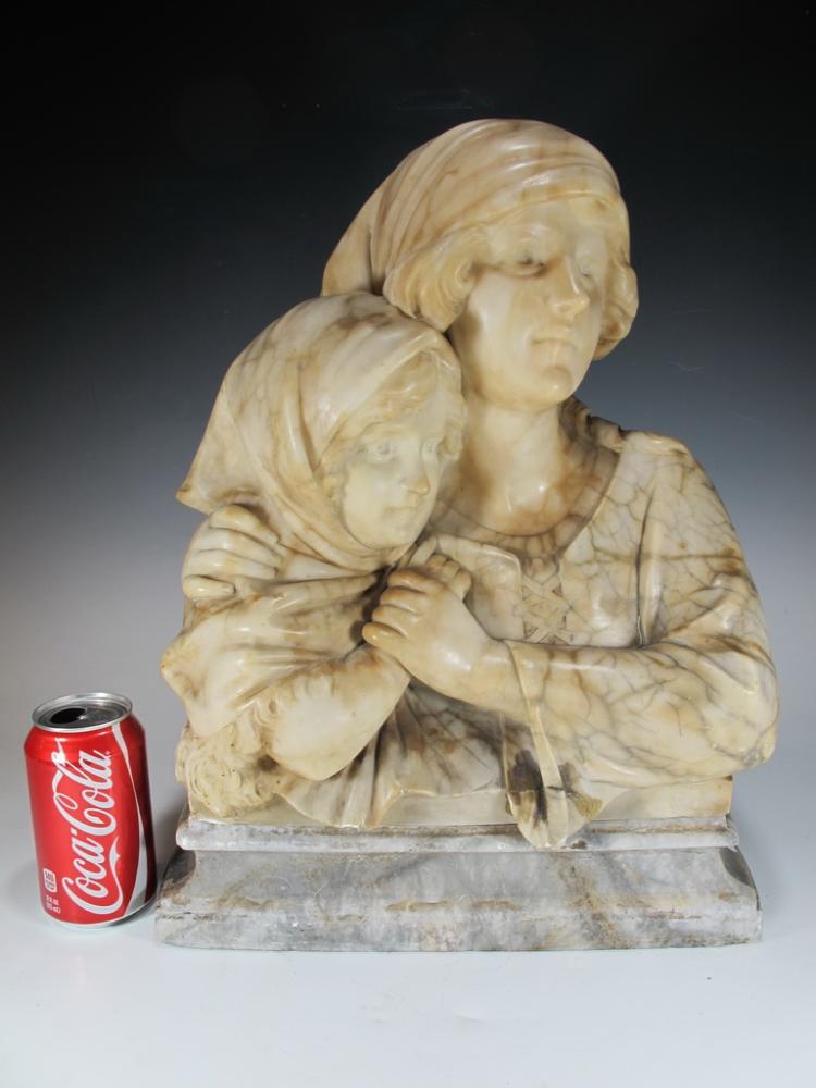 Adolfo CIPRIANI (act.1880-1930), Italian alabaster sculpture