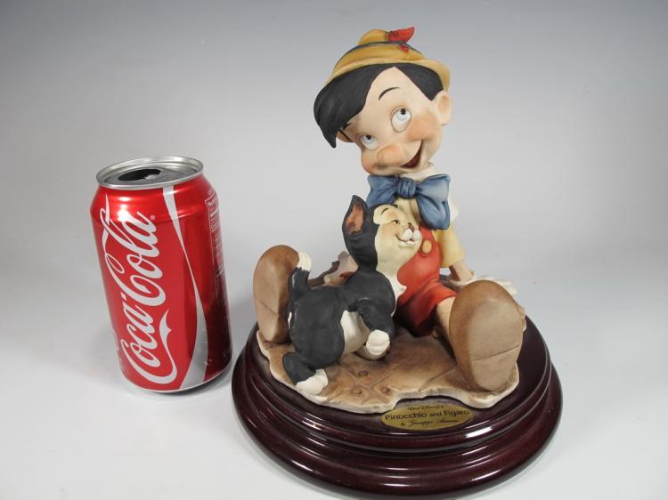 Pinochio, Giuseppe Armani 1995 Disney figurine DAMAGED