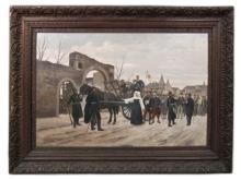 Edouard DETAILLE (Attrib.) (1848-1912) oil on canvas