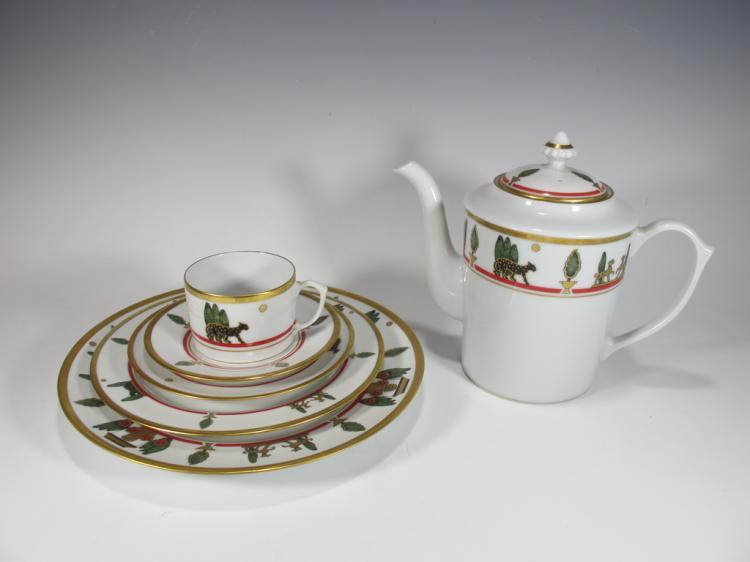 la maison de cartier limoges porcelain 6 pcs set