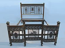 Antique French Bronze full bed