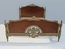 Antique French louis XVI full bed