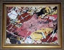 Beautiful art paintings, Basquiat, Amelia Pelaez, Jackson Pollock and more..