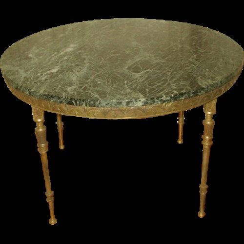 New York Marble Coffee Table: Neoclassical Coffee Table 19th Century Marble Or Mirrored To