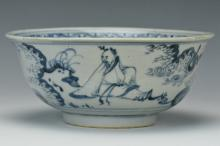 A Ming Blue and White Bowl, 15th Century