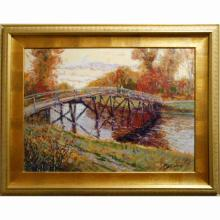 Contemporary Tonalist/Impressionist Landscape By Bruce Wood