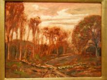 Contemporary Tonalist Oil Painting By Bruce Wood
