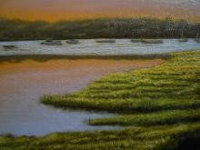 Chatham Cove Contemporary Oil Painting