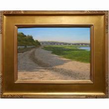 Cape Cod Shoreline Oil Painting